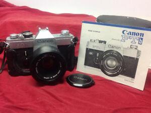 Appareil photo Canon 50 mm