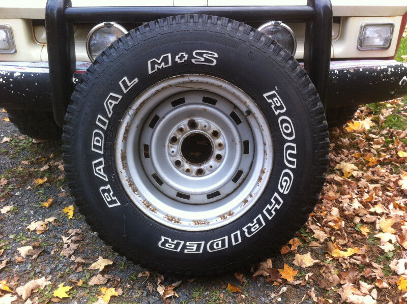 Premise 75 Vs I Maxx Pro: Square Body K10 4X4 Rally Wheel And 235 75 15 Spare Tire