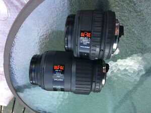 Set of 2 Pentax AF lenses. MINT!!!