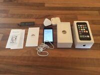 iPhone 5s 16gb with all accessories and spare battery , excellent condition £100