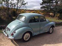 Morris minor 4 door 1958