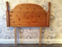 Single Headboard -Solid Pine-M & S Furniture
