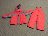 2 Weatherproof 18 months Snow Suits