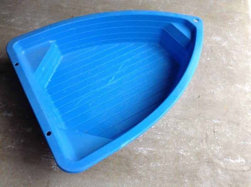 Boat Shaped Paddling Pool Sandpit In Darlington County