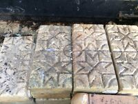 Path paving bricks Victorian