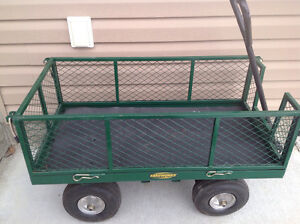 Yardworks Steel Wagon