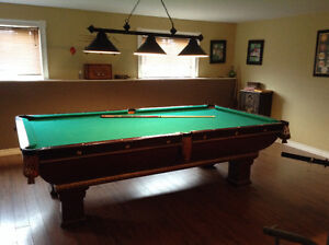 Brunswick monarch pool table