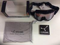 Cebe CBG72 RIDGE OTG Ski Goggles - Black Large New with Tags