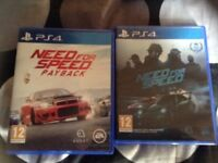 Need for speed payback mint conditon