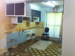 Rénovation générale du sous-sol au grenier, 438-978-2261  25$/hr