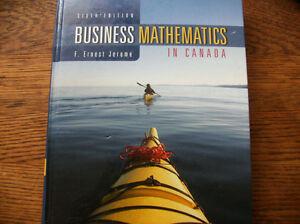 Business Mathematics in Canada, 6th Cdn edition