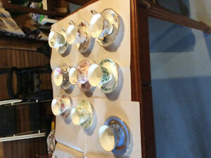35 Fine china cups and saucers...