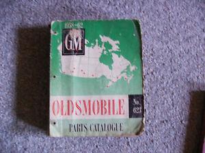 1958-62 OLDSMOBILE PARTS MANUAL Cornwall Ontario image 1