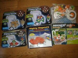 Magnetix Collection!  5 sets - Science and creativity!