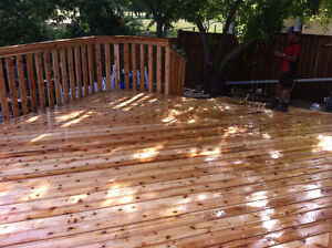 Decks,railings,stairs and garages