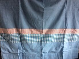 Brand New Jojo Maman Bebe gingham curtains