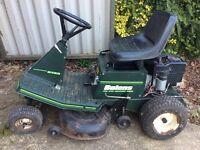 Ride on lawnmower spares or repair