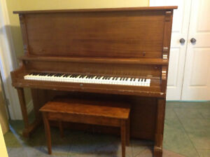 Piano - Doherty Upright Grand - Excellent Condition
