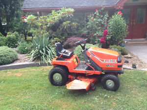 Kubota Lawn tractor with mower