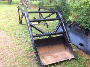Loader for Farm Tractor
