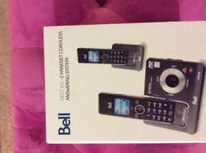 Bell cordless answering system