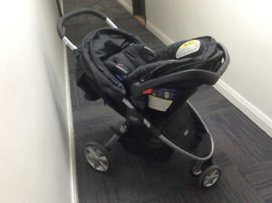 Britax B agile stroller and car seat