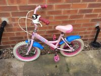 Dawes Lotto Girl's Bike Suitable for age 4 / 5