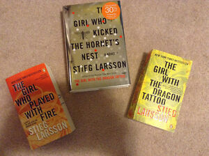 Girl with dragon tattoo series and The Host Stephanie Meyer book Edmonton Edmonton Area image 1