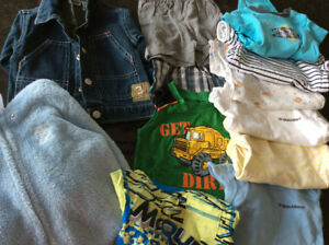 6-12 month assorted boy's clothing