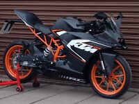 KTM RC 125 ABS 2016. Only 96miles. Delivery Available *Credit & Debit Cards Accepted*