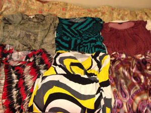 HUGE LOT OF WOMENS PLUS SIZED CLOTHES!!!