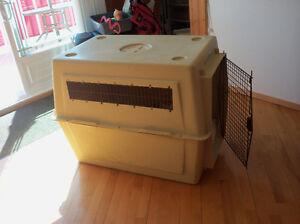 Cage pour chien en pvc