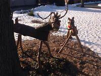 Life sized deer