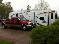 Moving travel trailers