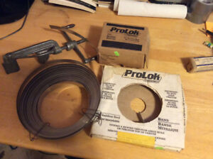 Prolok Steel Banding Tool includes Strapping