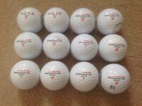 12 PINNACLE PROCESSION GOLF BALLS