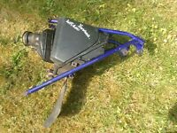 Yamaha wr 400 air box sub frame and exhaust