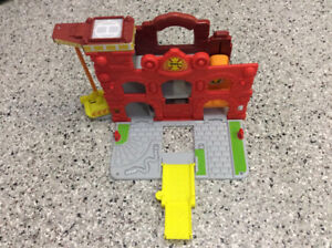Portable Fire Station Toy