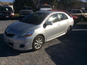 2009 Toyota Yaris 1 year Powertrain warranty unlimited kms $3500