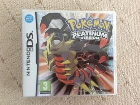 Pokémon Platinum Version DS Game