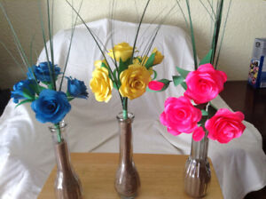 Home made flowers