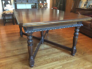 Antique Krug Dining Room Table and Chairs