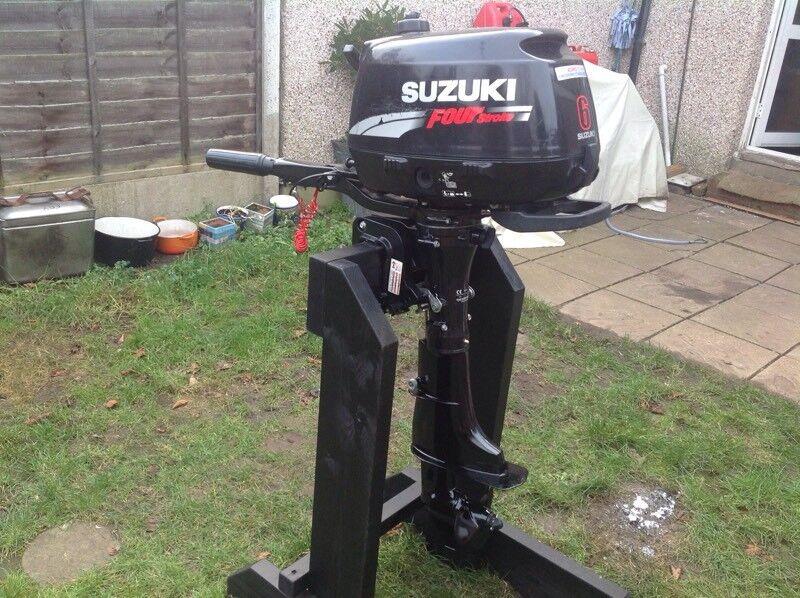 Suzuki 6hp 4 Stroke outboard Motor for sale repair manual Pdf