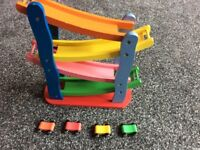 Click clack car track