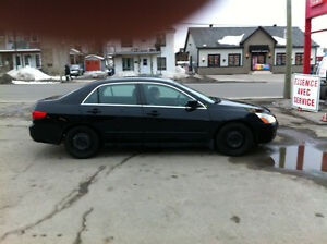 2005 Honda Accord Noir Berline