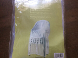 cover for outdoor chairs... Perfect for patio, pool or RV