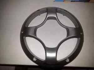 """Selling my 2 10"""" pioneer subwoofers covers"""