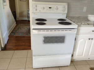 Electric Stove, by GE