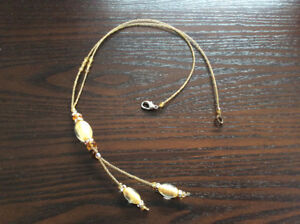 Great Xmas gift ** hand crafted glass necklace
