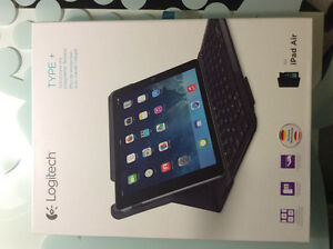 Logitech Type+ folio case keyboard bluetooth for iPad Air